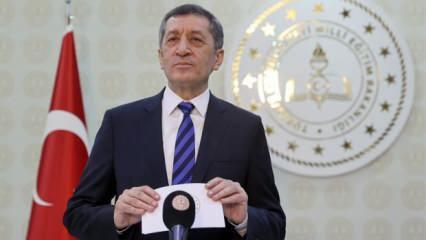 Milli Eğitim Bakanı Ziya Selçuk'tan kritik uzaktan eğitim açıklaması!