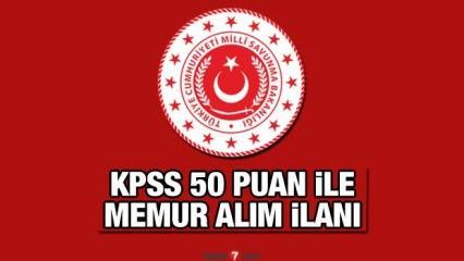 MSB KPSS 50 ile memur alımı bitiyor ! Son başvuru için 3 gün kaldı!