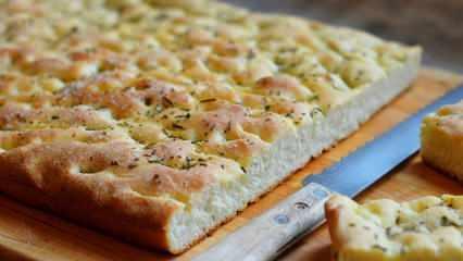 En kolay Fokaça ekmeği nasıl yapılır? Fokaça ekmeğinin püf noktaları