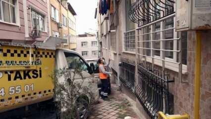 Samsun'da çöp toplayan temizlik görevlileri çöp diye aldıkları paket karşısında şok oldu!