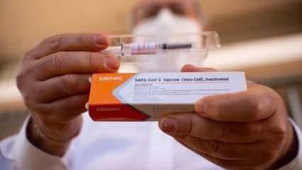 Son Dakika: CoronaVac aşısı için 'Acil Kullanım Onayı' verildi