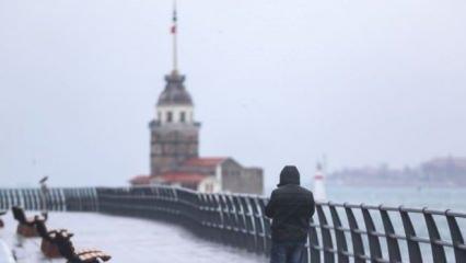 Son Dakika... İstanbul Valiliği'nden kar yağışı uyarısı