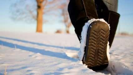 Topuklu ayakkabılar kışın nasıl kullanılmalı? Kışın topuklu ayakkabı giymenin püf noktası
