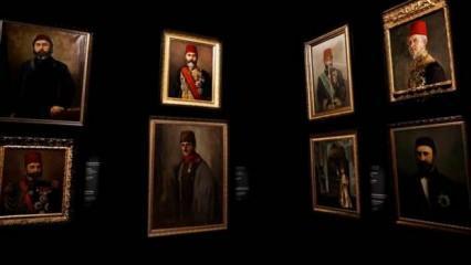 Milli Saraylar Resim Müzesi restorasyon çalışmalarının ardından açıldı