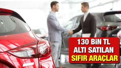130 bin TL altı sıfır araç modelleri: 2021 model Fiat Dacia fiyat listesi