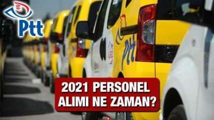 PTT 2021 personel alımı ne zaman? PTT KPSS taban puanı kaç olacak?