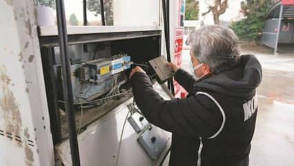 20 bin tankerlik yakıt vurgunu