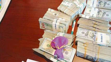 45 milyon lira kasadan taşan paraymış