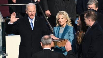 ABD'de başkanlık değişimi: Biden yemin ederek ülkenin 46. başkanı oldu