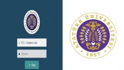 ATA AÖF sınav sonuçları açıklandı mı? Atatürk Üniversitesi güz dönemi final sonuçları...