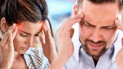 Ayda 10 taneden fazla ağrı kesici kullanmak kronik baş ağrısına yol açıyor!