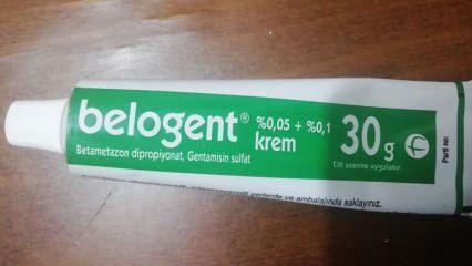Belogent krem nedir ve Belogent Krem ne işe yarar? Belogent krem nasıl kullanılır?