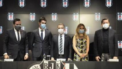 Beşiktaş'a yeni sponsor! Dünyada ilk kez...