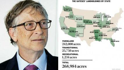 ABD'nin yeni toprak ağası artık Bill Gates