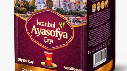 ÇAYKUR'dan İstanbul'a özel 'Ayasofya' çayı