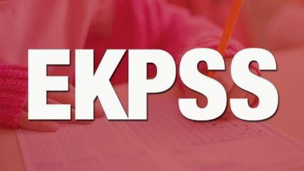 EKPSS tercih sonuçları ne zaman açıklanacak? 2021 ÖSYM EKPSS yerleştirme sonuç takvimi!