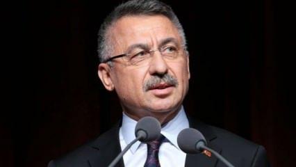 Cumhurbaşkanı Yardımcısı Fuat Oktay'tan okullar için son dakika tatil açıklaması