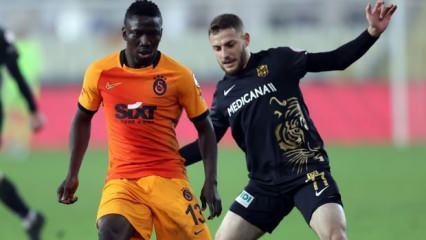 Galatasaray 6 eksikle Malatya deplasmanında