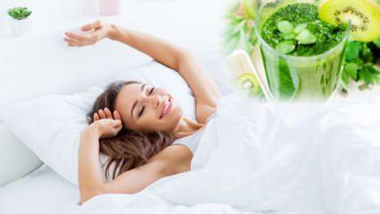 Gece uyurken kilo vermenin yolları! Uyurken yağ nasıl yakılır? Uykuda yağ yaktıran kür tarifi