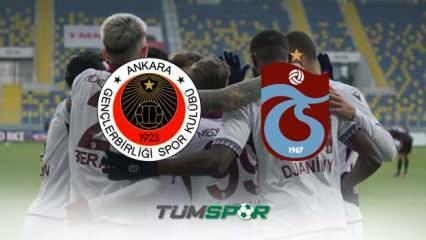 Gençlerbirliği Trabzonspor maçının geniş özeti ve golleri