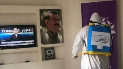 HDP, Esenyurt'taki PKK paçavraları yüzsüzce savundu! Skandal açıklama