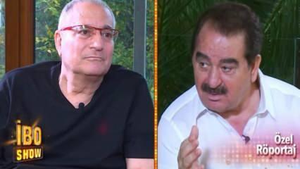 İbo Show'a katılan Mehmet Ali Erbil gözyaşlarını tutamadı!