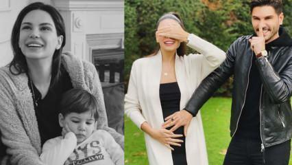 İkinci çocuğuna hamile olan Almeda Abazi formda!