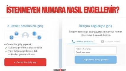 İstenmeyen mesaj, e-posta ve arama nasıl engellenir? İYS nedir, e-Devlet üzerinden SMS...