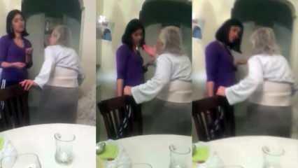 Kadıköy'de dehşete düşüren görüntüler! Yaşlı kadına bakıcı şiddeti…