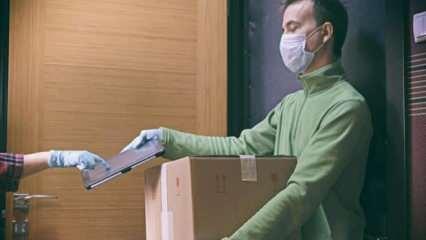 Kargo paketlerinde koronavirüs tehlikesi! Paketi açar açmaz çöpe atın