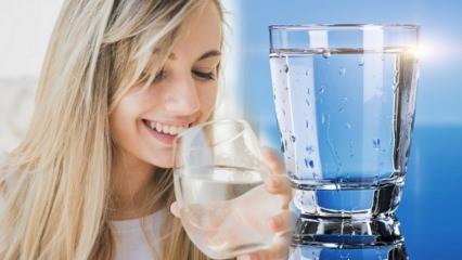 Günlük su ihtiyacı hesaplama! Kiloya göre günde kaç litre su içilmeli? Çok su içmek zararlı mı