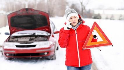 Kışın yolda kalmamak için dikkat etmeniz gerekenler neler?