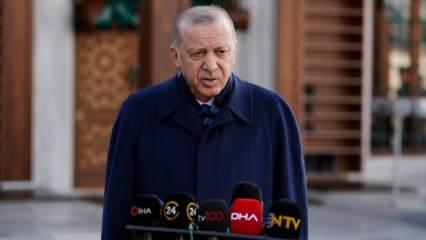 Kısıtlamalar kalkıyor mu? Erdoğan'dan son dakika açıklaması geldi! Aşı için yeni tarih...