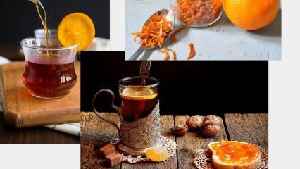 Portakal çayının faydaları nelerdir? Portakal çayına tarçın ekleyip günde bir bardak içerseniz