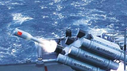 Roketsan görüntüleri paylaştı! İşte Denizaltı Savunma Harbi Roketi
