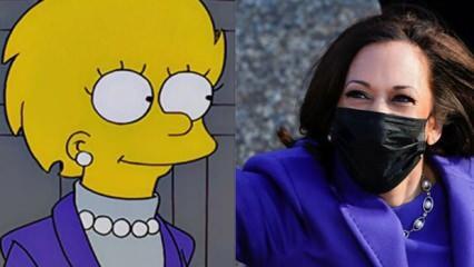 Simpsonların Kamala Harris öngörüsü de tuttu