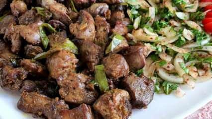 Tavuk ciğerinin faydaları nelerdir? Tavuk ciğeri nasıl pişirilir?