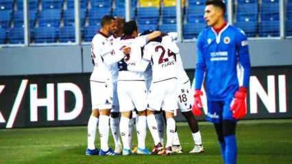 Trabzonspor, başkentte kazandı!