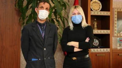 Türkiye'de ilk kez yüz nakli yapılan Uğur Acar yeni yüzüyle 9 yılı geride bıraktı