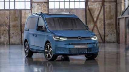 Volkswagen Caddy Türkiye'de! İşte özellikleri ve fiyatı...