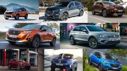 2020 yılında en çok satılan SUV araç modelleri: Volkswagen Opel Dacia Peugeot kaç adet sattı