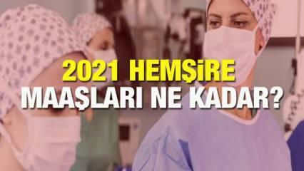 2021 Hemşire Maaşları Ne Kadar? Kıdemlere göre hemşire maaş zamları açıklandı!