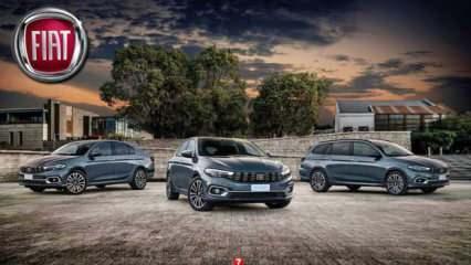 2021 Model Fiat Egea modelleri kaç TL oldu? Yeni Egea Sedan Cross Hatcback fiyat listesi