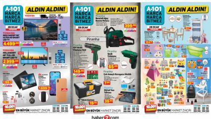 A101 29 Ocak 2021 Aktüel Ürünler Kataloğu!