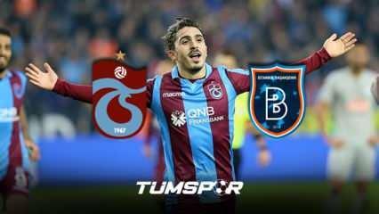 Abdulkadir Ömür Başakşehir maçında oynayacak mı? Trabzonspor'dan Süper Kupa sürprizi!