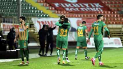 Alanyaspor, 2-0'dan geri döndü! Tam 7 gol...