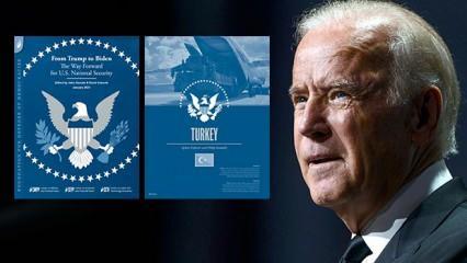 Biden'a sunulan Türkiye raporu