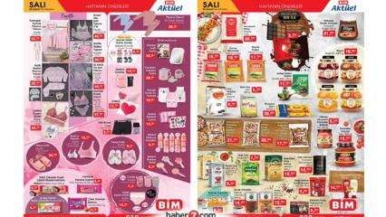 BİM 2 Şubat 2021 Aktüel Ürünler Kataloğu! (Gıda ve Tekstil Kataloğu)