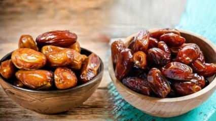Ramazan ayının vazgeçilmezi hurmanın faydaları