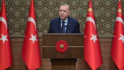Cumhurbaşkanı Erdoğan müjdeyi verdi: Destek ödemesi yapılacak